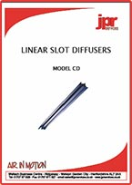 CD Series Linear Slot Diffuser Brochure