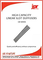 High Capacity Linear Slot Diffuser-Brochure