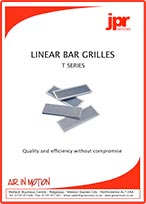 Linear Bar Grilles T Series Brochure