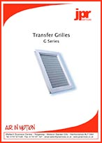 Transfer Grille G Series Brochure