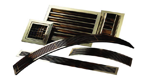 Stainless Steel and Brass Grilles