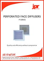 Perforated Face Diffuser Brochure